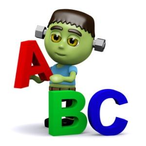 3d Frankenstein spelling